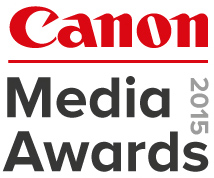 Canon Media Awards 2015 logo