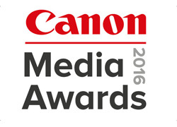 Canon Media Awards 2016 logo Square